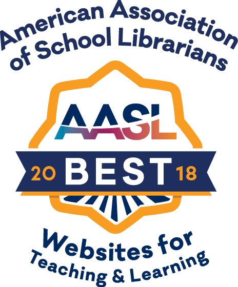 American Association of School Librarians: Best 2018 Websites for Teaching & Learning